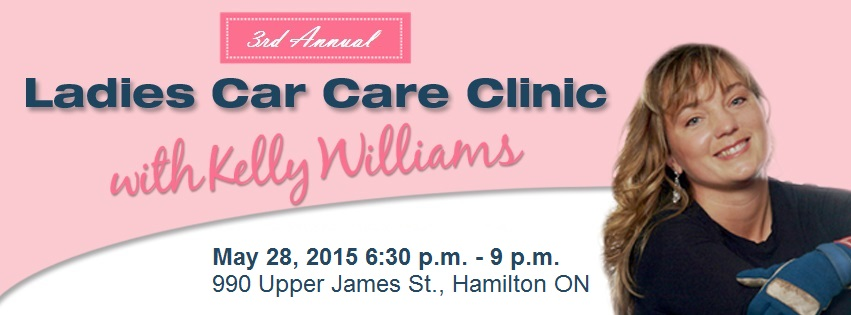 3rd Annual Ladies Car Care Clinic